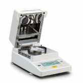 Moisture Analyzer MA35 mit geљffneter Trockenhaube Moisture Analyzer MA35 with opened drying chamber